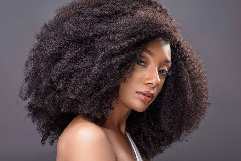 How to Maintain Straighten 4C Hair Without Causing Heat Damage